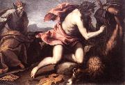 PALMA GIOVANE Apollo and Marsyas (1) ag oil painting artist