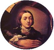 PARMIGIANINO Self-portrait in a Convex Mirror a oil painting artist