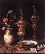 PEETERS, Clara Still-Life with Flowers and Goblets a oil painting picture wholesale