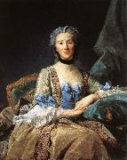 PERRONNEAU, Jean-Baptiste Madame de Sorquainville af oil painting reproduction