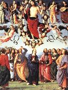 PERUGINO, Pietro The Ascension of Christ af oil painting picture wholesale