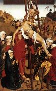 PLEYDENWURFF, Hans Crucifixion of the Hof Altarpiece sg oil painting picture wholesale