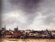 POEL, Egbert van der View of Delft after the Explosion of 1654 af oil painting picture wholesale