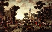 POEL, Egbert van der The Fair af oil painting picture wholesale