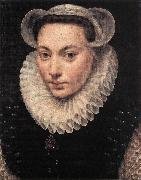 POURBUS, Frans the Elder Portrait of a Young Woman fy oil painting artist