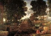 POUSSIN, Nicolas A Roman Road af oil painting picture wholesale