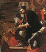 PRETI, Mattia Pilate Washing his Hands af oil painting picture wholesale