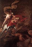 PUGET, Pierre The Education of Achilles by Chiron ar oil painting picture wholesale