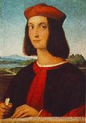 RAFFAELLO Sanzio Portrait of Pietro Bembo oil painting picture wholesale