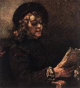 REMBRANDT Harmenszoon van Rijn Titus Reading du Germany oil painting reproduction