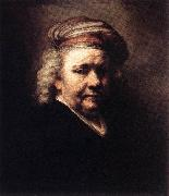 REMBRANDT Harmenszoon van Rijn Self-Portrait   w6 oil painting picture wholesale