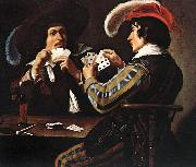 ROMBOUTS, Theodor The Card Players  at oil painting picture wholesale