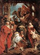 RUBENS, Pieter Pauwel The Adoration of the Magi af oil painting picture wholesale