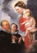 RUBENS, Pieter Pauwel Virgin and Child af oil