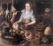 RYCK, Pieter Cornelisz van The Kitchen Maid AF Germany oil painting reproduction