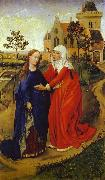 Rogier van der Weyden Visitation of Mary  e oil painting picture wholesale