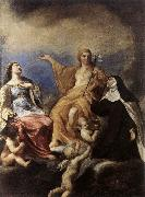 SACCHI, Andrea The Three Magdalenes DFY oil painting artist