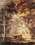 SANDBY, Paul Cow-Girl in the Windsor Great Park af oil