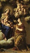 SASSOFERRATO The Mystic Marriage of St. Catherine f oil painting artist