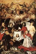 SERODINE, Giovanni Coronation of the Virgin with Saints  a oil painting artist