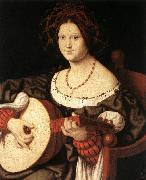 SOLARI, Andrea The Lute Player fg oil painting artist