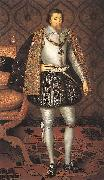 SOMER, Paulus van King James I of England r oil painting picture wholesale