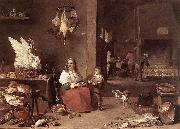 TENIERS, David the Younger Kitchen Scene sg oil painting picture wholesale