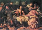 TINTORETTO, Jacopo The Supper at Emmaus ar oil painting picture wholesale