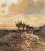 Alexei Savrasov A Country Road oil painting picture wholesale