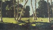Arkhip Kuinji The Birch Grove oil painting picture wholesale