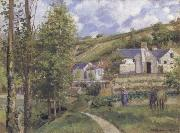 Camille Pissarro A View of L-Hermitogo,near Pontoise oil painting picture wholesale