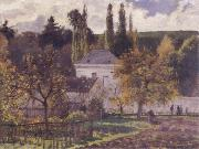 Camille Pissarro Villa at L-Hermitage,Pontoise oil painting picture wholesale