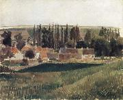 Camille Pissarro Landscape at Osny oil painting picture wholesale
