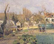 Camille Pissarro Kitchen Garden at L-Hermitage,Pontoise oil painting picture wholesale