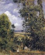Camille Pissarro Resting beneath the trees,Pontoise oil painting picture wholesale