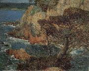 Childe Hassam Point Lobos Carmel oil painting picture wholesale