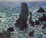 Claude Monet Rocks at Belle-lle oil painting picture wholesale