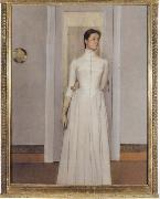 Fernand Khnopff Portrait of Marguerite Khnopff oil