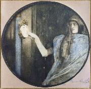 Fernand Khnopff Secret oil