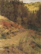 Fernand Khnopff IN fOSSET.a Path oil