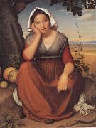 Friedrich overbeck Vittoria Caldoni oil painting artist