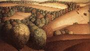 Grant Wood Near the sunset oil painting picture wholesale