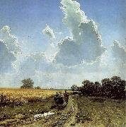 Ivan Shishkin Midday in the Environs of Moscow oil painting artist