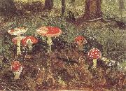 Ivan Shishkin Fly-Agarics,Study oil painting picture wholesale