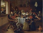 Jan Steen The Merry family oil painting picture wholesale