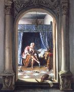 Jan Steen The toilet oil painting picture wholesale