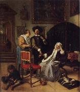 Jan Steen The Doctor-s vistit oil painting picture wholesale