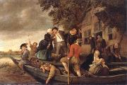 Jan Steen The Merry  Homecoming oil painting picture wholesale