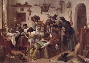 Jan Steen Beware of Hxury oil painting picture wholesale