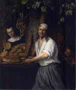 Jan Steen The Leiden Baker Arent Oostwaard and his wife Catharina Keizerswaard oil painting picture wholesale